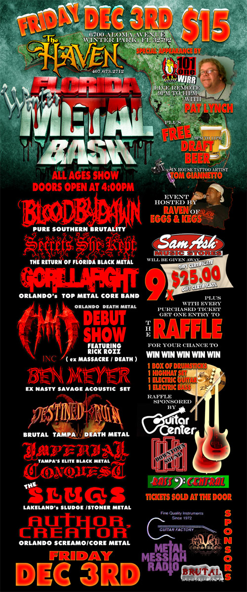 FLORIDA METAL BASH